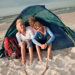 Strandmuschel Test – Bester UV Sonnenschutz am Strand mit Kindern