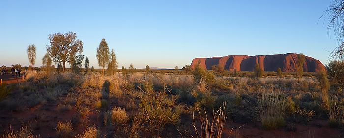 panorama ayers rock